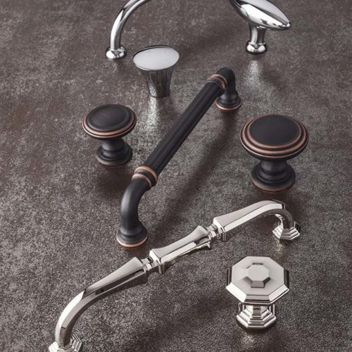 Hardware-Chalet in Polished Nickel-Chareau Collection by Top Knobs