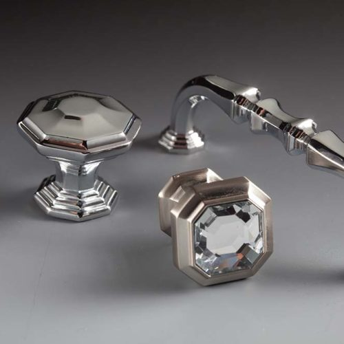 Hardware-Emerald in Brushed Satin Nickel-Chareau Collection by Top Knobs