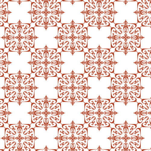 Wall Covering-Florentine in Cayenne-Kiln Collection by Given Campbell