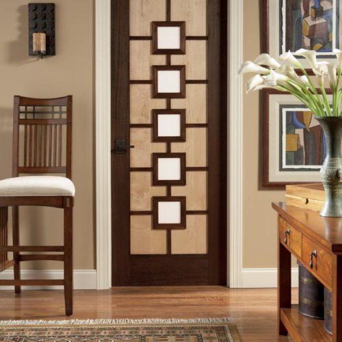 Door-Mahogany Maple Contemporary Design Series by TruStile