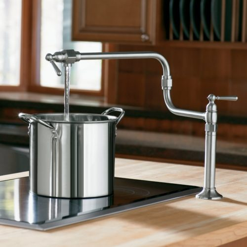 Deck Mounted Pot Filler