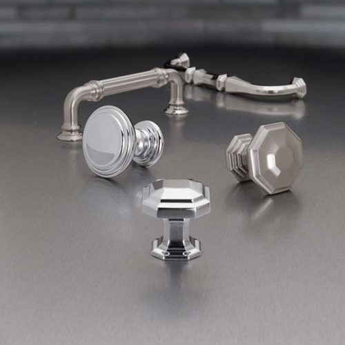 Hardware-Polished Chome-Chareau Collection by Top Knobs