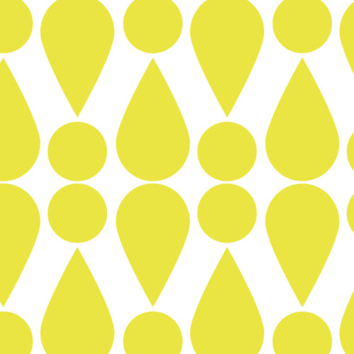 Wall Covering-Summer Showers in Fiesta Yellow-Andover Collection by Given Campbell