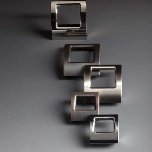 Hardware-Tango in Polished Nickel-Chareau Collection by Top Knobs