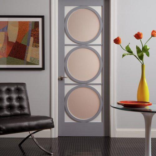 Door-Tuxedo Glass Art Deco Series by TruStile